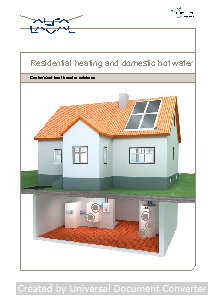 AL Residential Heating&HW